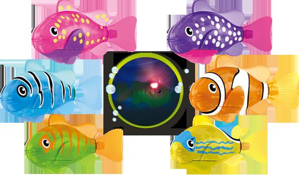 Robo Fish lumineux